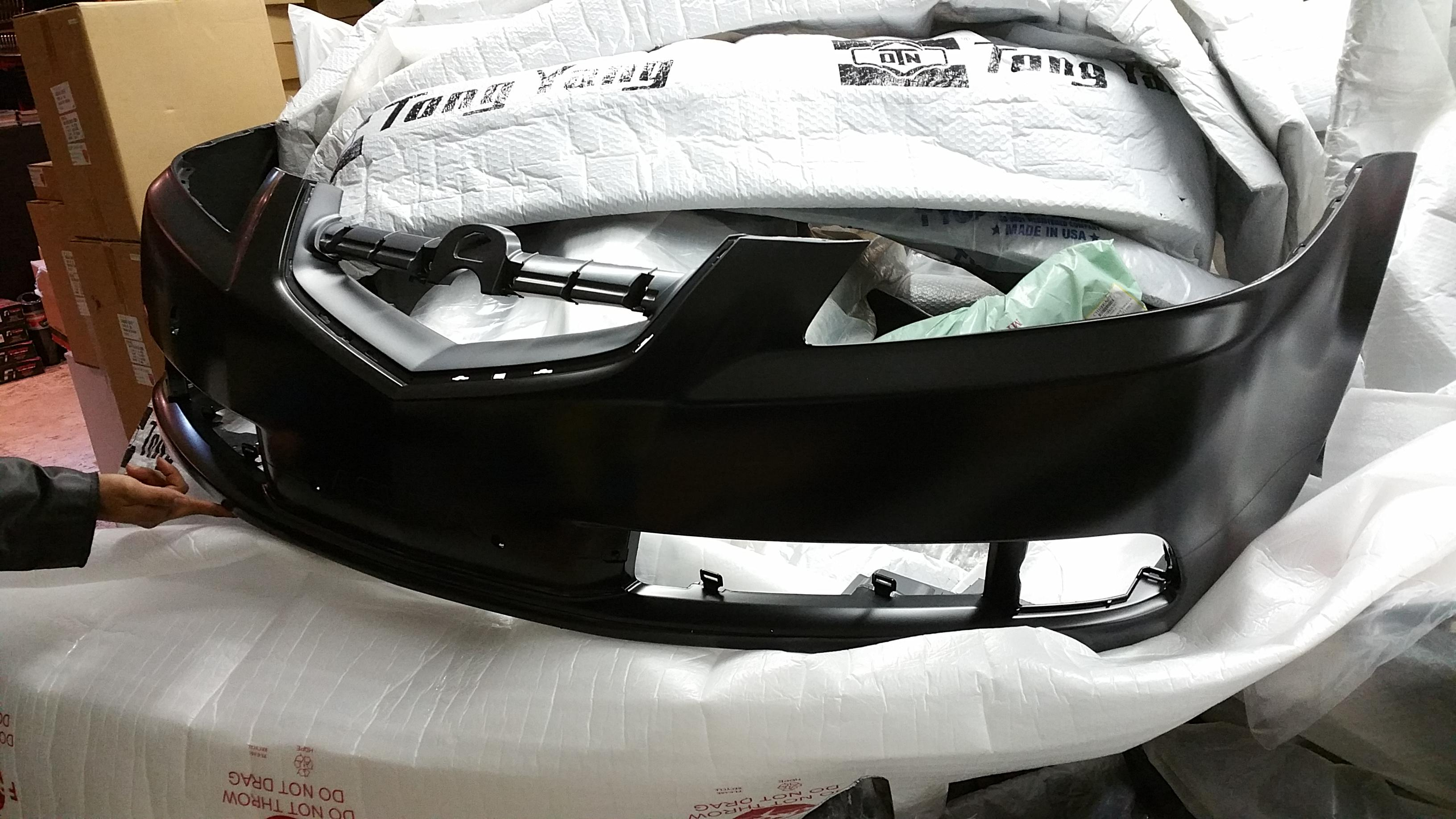 ACURA TL OEM GENUINE TYPES FRONT BUMPER Extreme Parts - Acura tl bumper