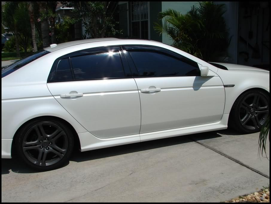 TL Extreme Parts - 2007 acura tl type s performance parts